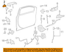 GM OEM Front Door-Cap Left 92233090