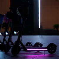 For Xiaomi M365 Electric Scooter Decor Foldabl RGB Colorful LED Strip Light