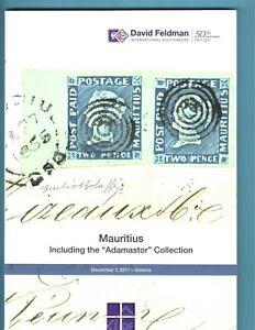 The Adamastor Collection of Mauritius, David Feldman, Dec. 7, 2017