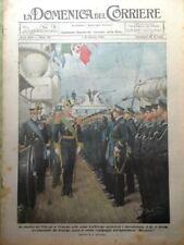 La Domenica del Corriere 8 Ottobre 1922 Principe Piemonte Smirne Tiro Segno Usa