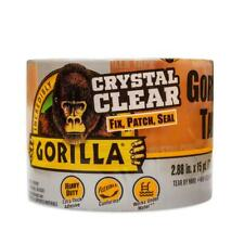 Gorilla Tough & Wide Tape Crystal Clear 2.83in X 15yds