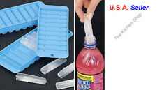 Sport Bottle Ice Stick Tray Cube Cylindrical Water Drink Maker Tubes (Free Ship)