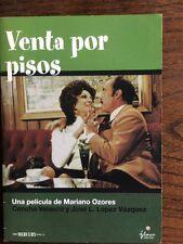 Dvd de cine español. Venta por Pisos Concha Velasco José Luis López Vázquez