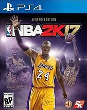NBA 2K17 - Legend Gold Edition PlayStation 4 New Ps4 Games Sony