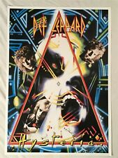 Def Leppard 1989 Poster Hysteria
