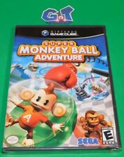 SUPER MONKEY BALL ADVENTURE NEW Nintendo Game Cube CIB Disc, Case, Manual SEALED
