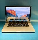 Apple MacBook Pro A1286 500GB SSD 8GB RAM Core i7 2.2GHz HD 3000 512MB 1440x900
