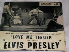 Elvis Presley - Love Me Tender EP - HMV 7EG8199