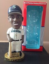 Mike Cameron Seattle Mariners 2001 Gold Glove Bobblehead, White Sox, Padres Mets