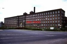 PHOTO  1987 MEADOW MILL STOCKPORT OWEN ASHMORE IN THE INDUSTRIAL ARCHAEOLOGY OF