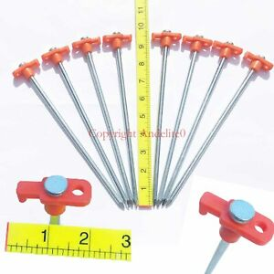 Heavy Duty Metal Tent Pegs to support Big Tents Gazebos - Use WITH normal Pegs
