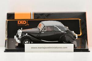 JAGUAR MK V 3.5 Litre DHC CABRIO 1950 BLACK IXO 1/43 NEUF EN BOITE