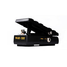 Donner Wah Cry 2 in 1 Mini Guitar Wah Effect/Volume Pedal True Bypass Free