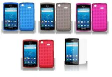 LCD Guard + TPU Soft Cover Case for Samsung Captivate Galaxy S I897 / I896 Phone