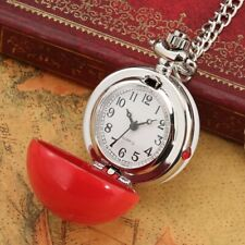Dial Modern Fashion Style Retro Chain Pocket Watch Necklace Gift Arabic Numerals