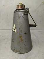 Fuel Sample Brass Canister Tin Container Box Military Army 0.27 Gal, 1 L