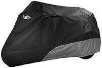 UltraGard Deluxe Trike Cover - Black/Charcoal 4-465BC For Harley