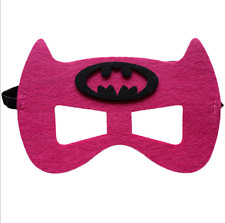 New Girs &Boys Superhero Mask for kids birthday party favors and ideas Batgirl