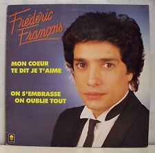 """33T Frédéric FRANCOIS Disque LP 12"""" MON COEUR TE DIT JE T'AIME - TREMA 310179"""