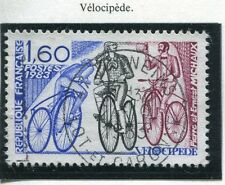 TIMBRE FRANCE OBLITERE N° 2290 VELOCIPEDE / Photo non contractuelle
