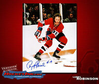 Larry Robinson SIGNED Canadiens 8X10 Photo -70197