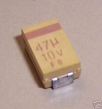 CAPACITOR TANTALUM  47UF 10V 10% SMD (SET OF 5)