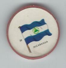 1963 General Mills Flags of the World Premium Coins #39 Nicaragua