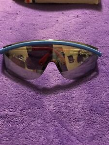 HOUSTON OILERS, Uvex 3000 Frame with Mirrored Lens, Safety Glasses WITH BOX