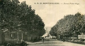 France Montivilliers - Avenue Victor-Hugo old postcard