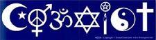 Coexist bumper sticker ~  Magick, Pagan, Wicca