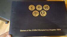 COMPLETE SET OF 24 COIN TOKENS OF THE 23RD OLYMPICS IN LOS ANGELES 1984 w CASE