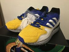 new styles 2e6eb 8fe54 Adidas Dragon Ball Z 10 ULTRA TECH VEGETA BLUE DBZ D97054 SON GOHAN GOKU  GOLD