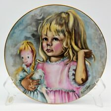Haviland & Parlon 1976 MOTHERS DAY PLATE Pinky & Baby Limoges France 69614