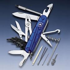 1.7725.T2 Victorinox Swiss Army Knife Cybertool 34 Ruby Blue 17725T2