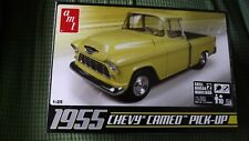 Amt 1/25 Scale 1955 Chevy Cameo Pick-Up Model Kit #633. New in Sealed Box