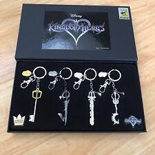 Sdcc 2017 Monogram Exclusive - Kingdom Hearts Pewter Key Ring Set