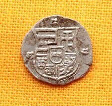Medieval Silver Coin - Ferdinand Obol, Madonna with Baby Jesus, 16. Century