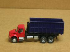 Boley Ho International Blue Bin Garbage Truck