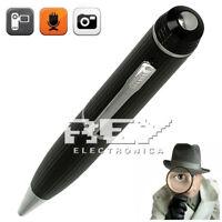 Lápiz Bolígrafo Espía Cámara Oculta 720 HD,1080 CIF AVI , MicroSD Incluida d342