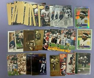 (90x) Walter Payton Football Card Lot With Inserts Numbered Cards Refractor +