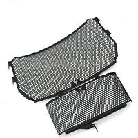 Radiator Guard Grille + Oil Cover Cooling Protector Fit Yamaha MT-10 FZ-10 16-17