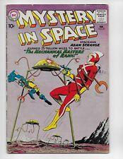 MYSTERY IN SPACE 65 - VG- 3.5 - EARLY ADAM STRANGE (1961)