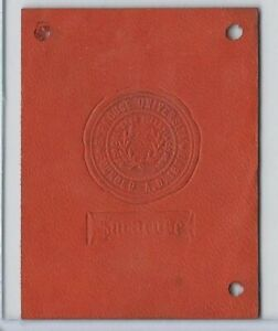 L20 American Tobacco Leather, College Seals, 1912, Syracuse
