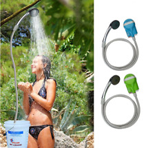 Portable Shower Water Pump USB Rechargeable Handheld Shower for Travel/Outdoor