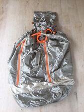 Sweaty Betty Large Silver Orange Gym Bag / Duffle Style