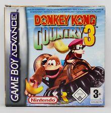 DONKEY KONG COUNTRY 3 - GAMEBOY ADVANCE GBA GAME BOY - PAL ESPAÑA