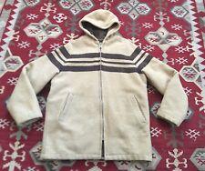 Vintage Woolrich Hudsons Bay Womens Jacket Medium Hoodie Wool