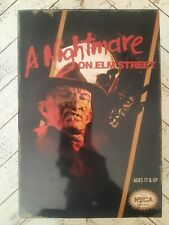 Neca Reel Toys - A Nightmare on Elm Street - Freddy Krueger Figure, unopened NES
