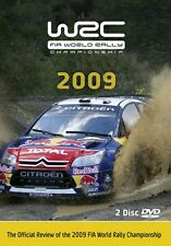 World Rally Championship - Official review 2009 New 2 DVD set Loeb Hirvonen WRC