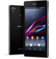 """5"""" Sony Ericsson Xperia Z1 C6903 LTE 20.7MP Android 16GB Débloqué Téléphone Noir"""